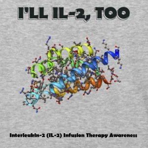 Interleukin Infusion Therapy Awareness - Baseball T-Shirt