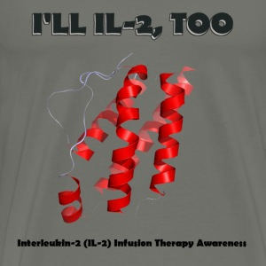 Interleukin Infusion Therapy Awareness - Men's Premium T-Shirt