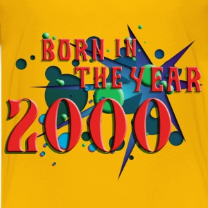 022016born_in_the_year_2000_c Kids' Shirts - Kids' Premium T-Shirt