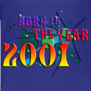 022016born_in_the_year_2001_b Kids' Shirts - Kids' Premium T-Shirt