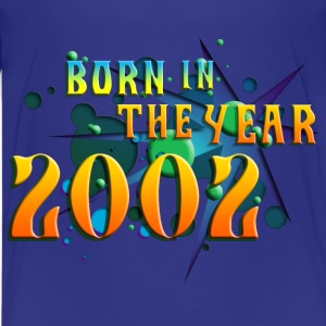 022016born_in_the_year_2002_a Kids' Shirts - Kids' Premium T-Shirt