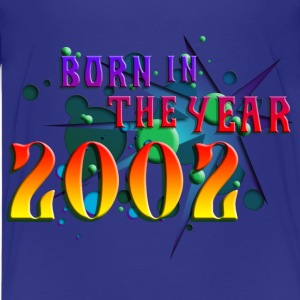 022016born_in_the_year_2002_b Kids' Shirts - Kids' Premium T-Shirt