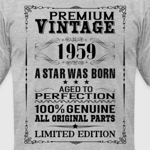 PREMIUM VINTAGE 1959 T-Shirts - Men's T-Shirt by American Apparel