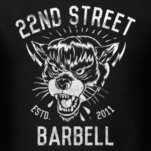 Barbell T-Shirts - Men's T-Shirt