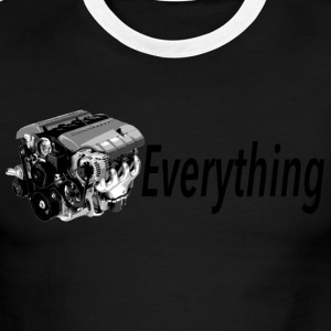 LS Everything SKY Throwback - Men's Ringer T-Shirt