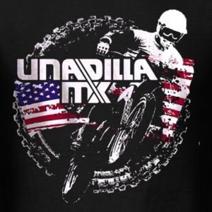 Motocross Side - Men's T-Shirt