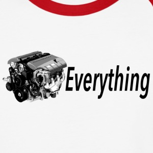 LS Everything RED Baseball - Baseball T-Shirt