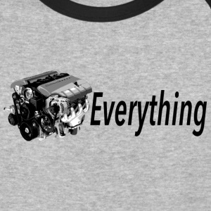 LS Everything GRAY/BLACK Baseball - Baseball T-Shirt