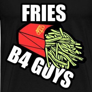 Fries Before Guys T-Shirts - Men's Premium T-Shirt