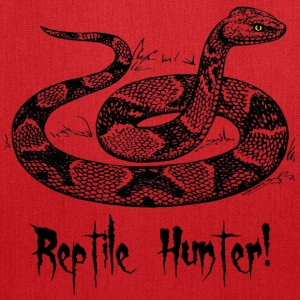 Reptile Hunter! Bags & backpacks - Tote Bag