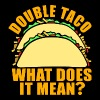 Double Taco T-Shirts - Men's Premium T-Shirt