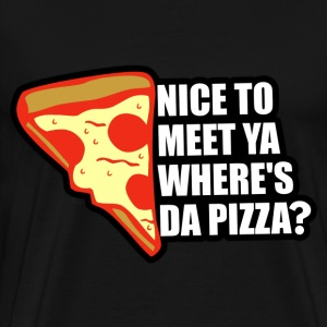 Where's the Pizza T-Shirts - Men's Premium T-Shirt