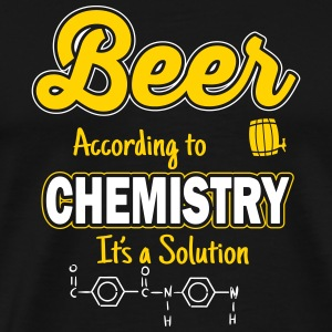 Beer is a solution T-Shirts - Men's Premium T-Shirt