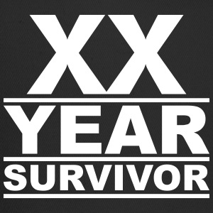 XX year survivor Caps - Trucker Cap