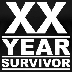 XX year survivor Women's T-Shirts