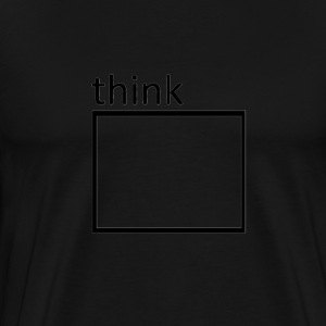 Think T-Shirts - Men's Premium T-Shirt