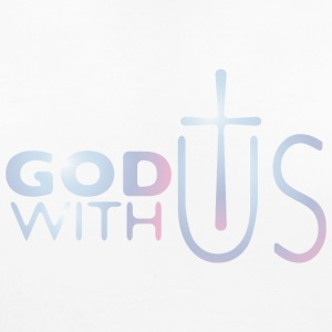 God with us Women's T-Shirts - Women's Maternity T-Shirt