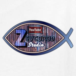 Kid's size Rustic Logo for YouTuber: Zevcorod Stud - Kids' T-Shirt