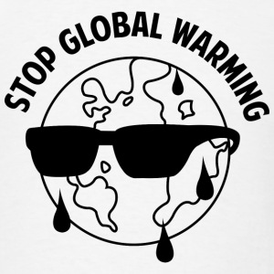 Stop Global Warming - Men's T-Shirt