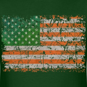 Irish States Of America T-Shirts - Men's T-Shirt