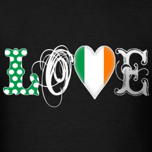 Love Ireland White T-Shirts - Men's T-Shirt