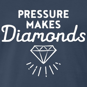 Pressure Makes Diamonds T-Shirts - Men's Premium T-Shirt