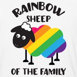 Rainbow Sheep Of The Family LGBT Pride T-Shirts - Baseball T-Shirt