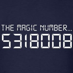 The Magic Number - Men's T-Shirt
