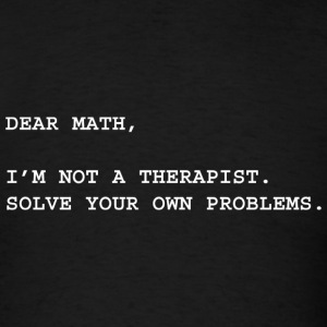Dear Math - Men's T-Shirt