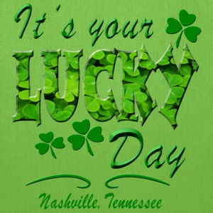 Nashville Lucky Day Bags & backpacks - Tote Bag