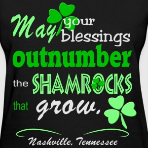 Nashville Irish Blessing Women's T-Shirts - Women's T-Shirt