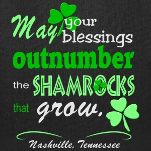 Nashville Irish Blessing Bags & backpacks - Tote Bag