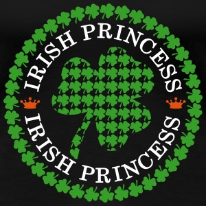 Irish Princess T shirt Women's T-Shirts - Women's Premium T-Shirt