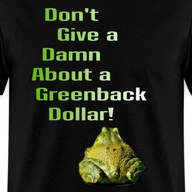 """Greenbacks"" promo shirt"