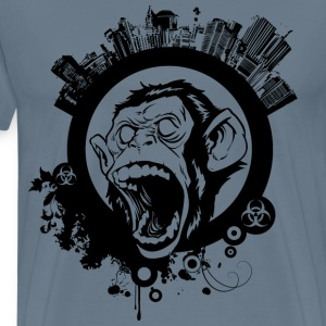 Urban Monkey  - Men's Premium T-Shirt