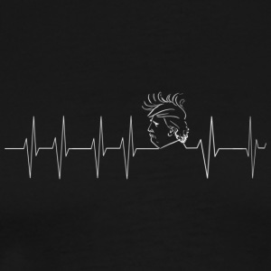 Trump heartbeat for men - Men's Premium T-Shirt