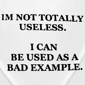I CAN BE USED AS A BAD EXAMPLE Caps - Bandana