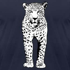 Leopard T-Shirts - Men's T-Shirt by American Apparel