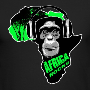 chimpanzee - Africa rocks Long Sleeve Shirts - Men's Long Sleeve T-Shirt by Next Level