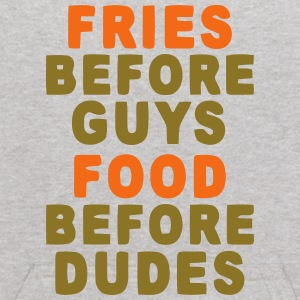 FRIES BEFORE GUYS - FOOD BEFORE DUDES Sweatshirts - Kids' Hoodie