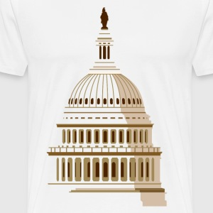USA Capitol - Men's Premium T-Shirt
