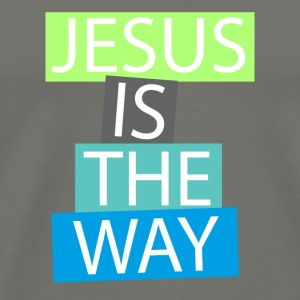 Jesus is the way T-Shirts - Men's Premium T-Shirt