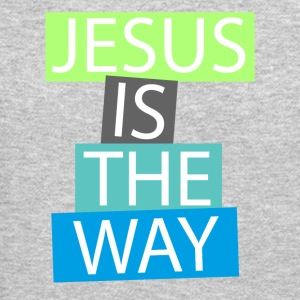 Jesus is the way Long Sleeve Shirts - Crewneck Sweatshirt