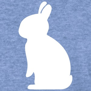 bunny rabbit hare cony leveret bunnies dwarf  Long Sleeve Shirts - Women's Wideneck Sweatshirt