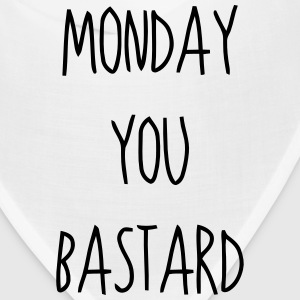 MONDAY YOU BASTARD Caps - Bandana