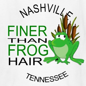 Nashville Finer Frog Hair Kids' Shirts - Kids' T-Shirt