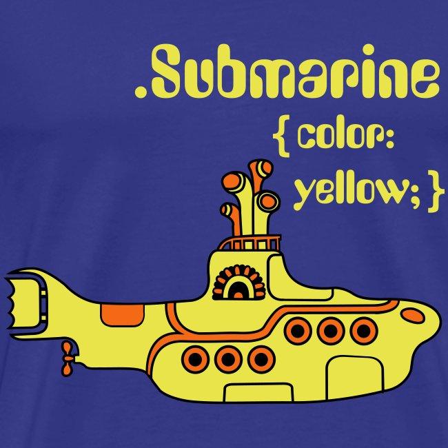 Yellow Submarine in CSS