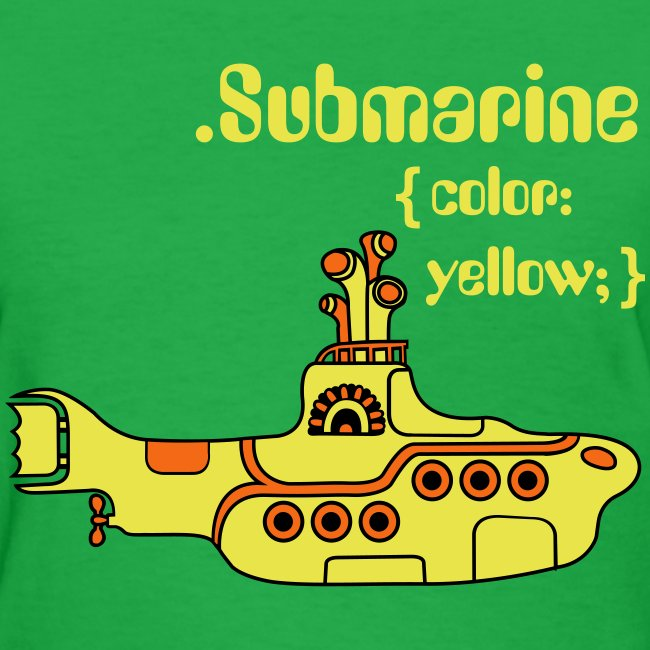 Yellow Submarine in CSS