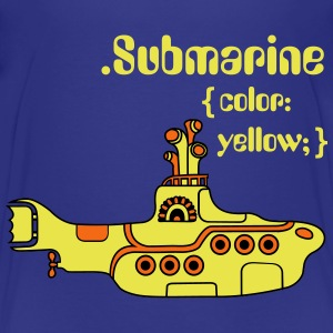 Yellow Submarine in CSS Kids' Shirts - Kids' Premium T-Shirt