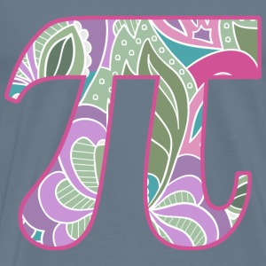 Girly Pi  - Men's Premium T-Shirt